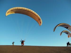 Dominic Schärt at Pena Negra take off