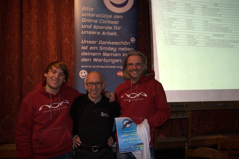 Chriss Bessei and Werner Luidolt attended the »OLC-Alpenflugsymposium 2011« at Zell am See
