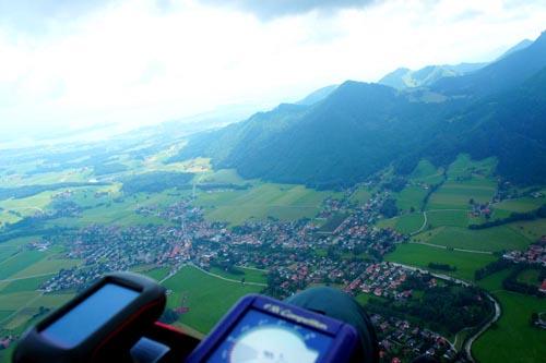 Crossalps 2011: hoch Ÿber Aschau