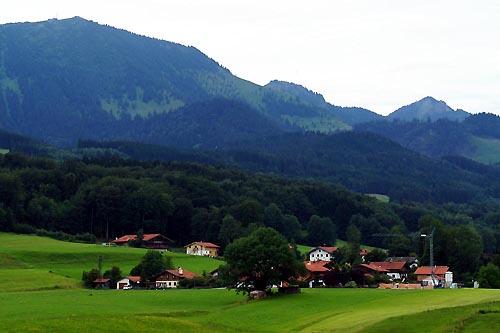 CROSSALPS 2011: Ausgangsort Grainbach und die Hochries