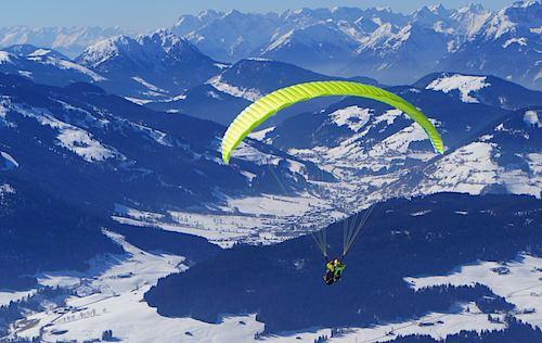 Auf der Suche nach den ersten Thermikblasen in Tirol