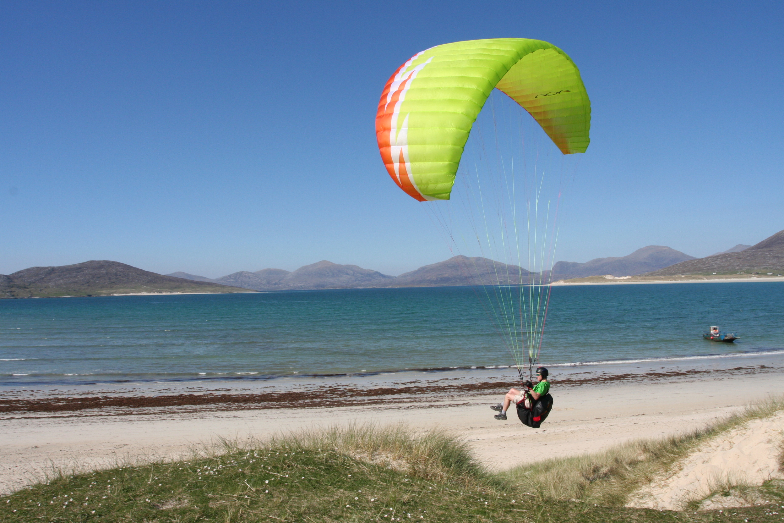 Flying in the Outer Hebrides (Scotland)