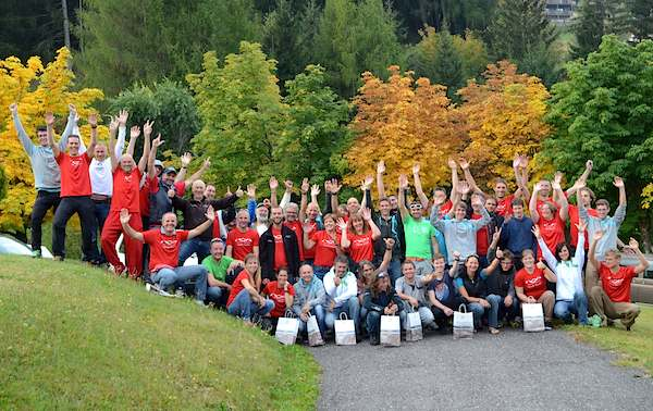 "Team Meeting & NOVA ""Pilots of the Year 2013"" – Big Party in Val Gardena"