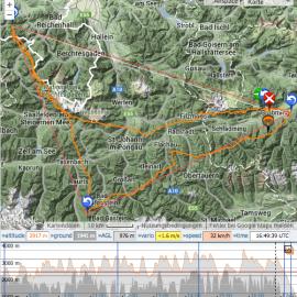 Wenn eine Vision zur Wirklichkeit wird: 251,44 km FAI Dreieck vom Stoderzinken …