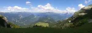 Aufstieg zum Monte Pavione