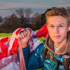 Hi from Flo Heuber – Junior pilot from Germany