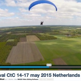 Cloud to Cloud: Towing Testival Netherlands filmed with a drone