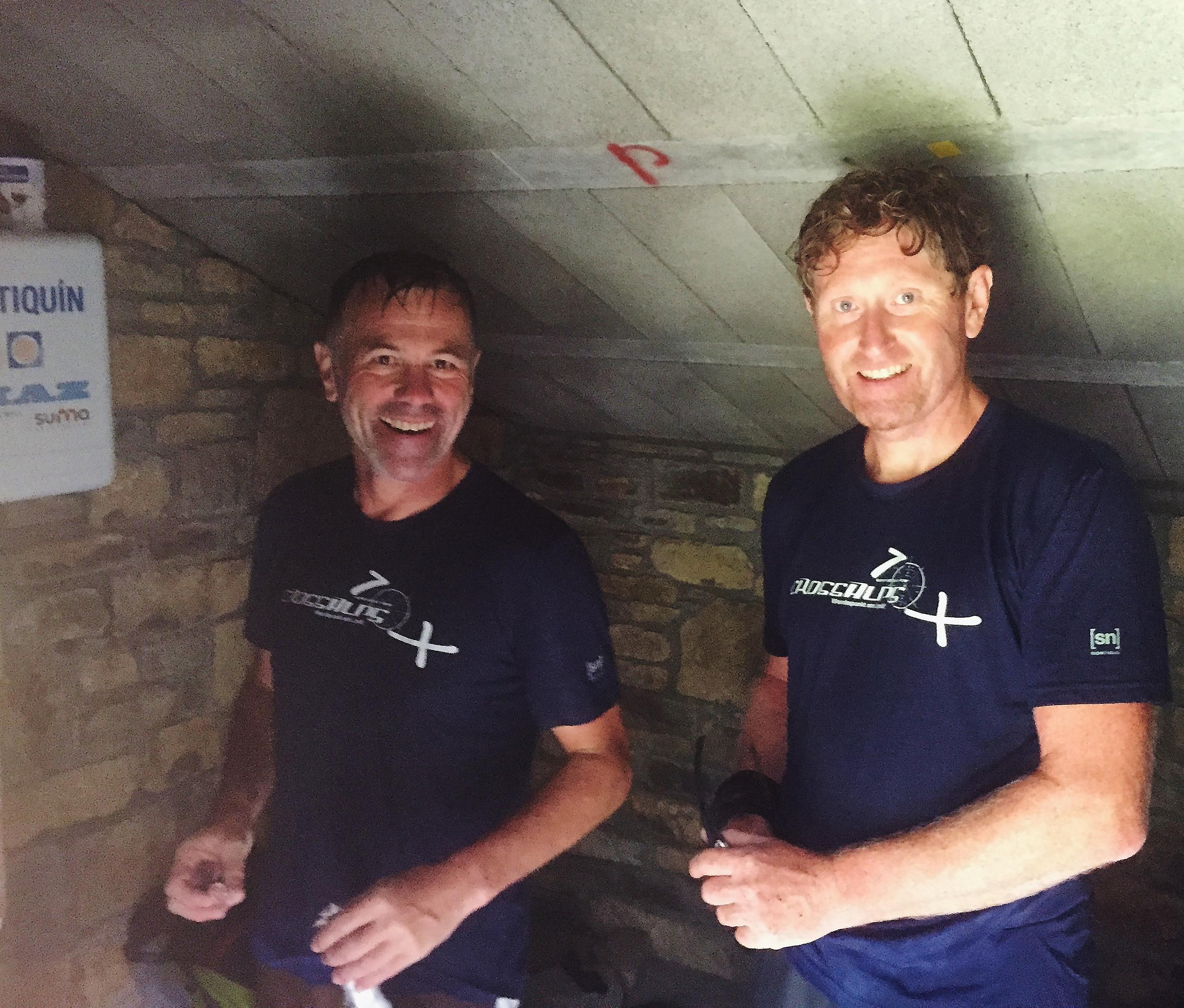 New Team Pilots Werner Schuetz and Robert Heim