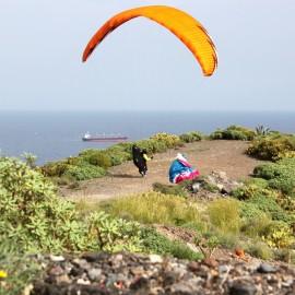 Dad visits Gran Canaria
