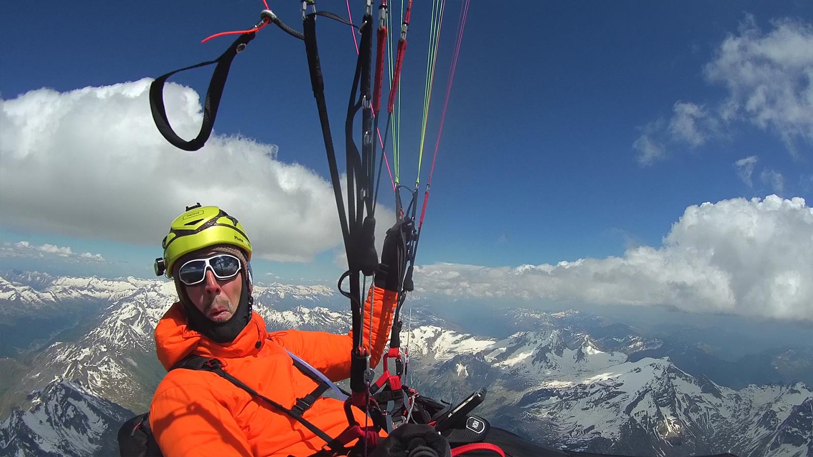 Sprachlos: 4.834 Meter.