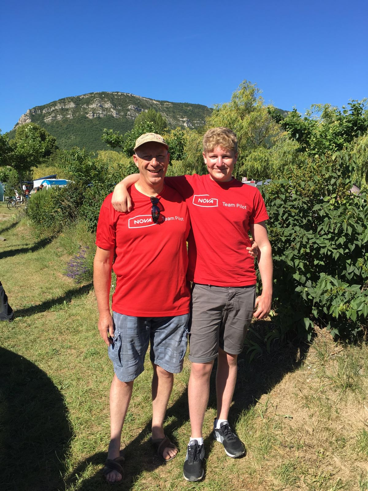 NOVA Team Pilots at Chabre Open 2016