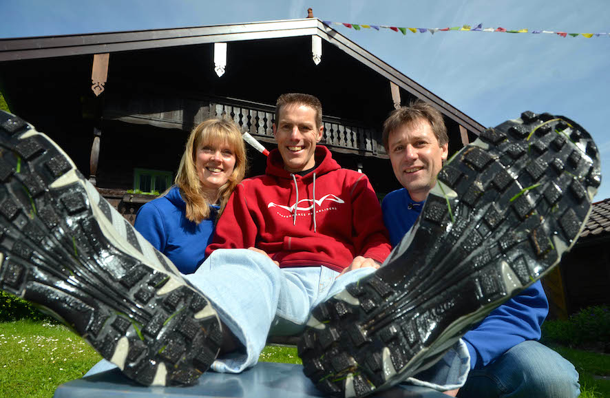 X-Alps 2011: Steve Nash and Team GBR (Shirley Nash, Richard Bungay) in the Alps