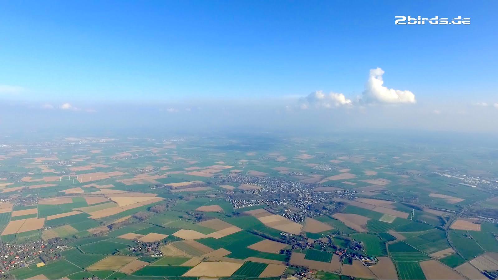 NOVA phantom goes step-towing and xc-flight in the north-west german flatlands