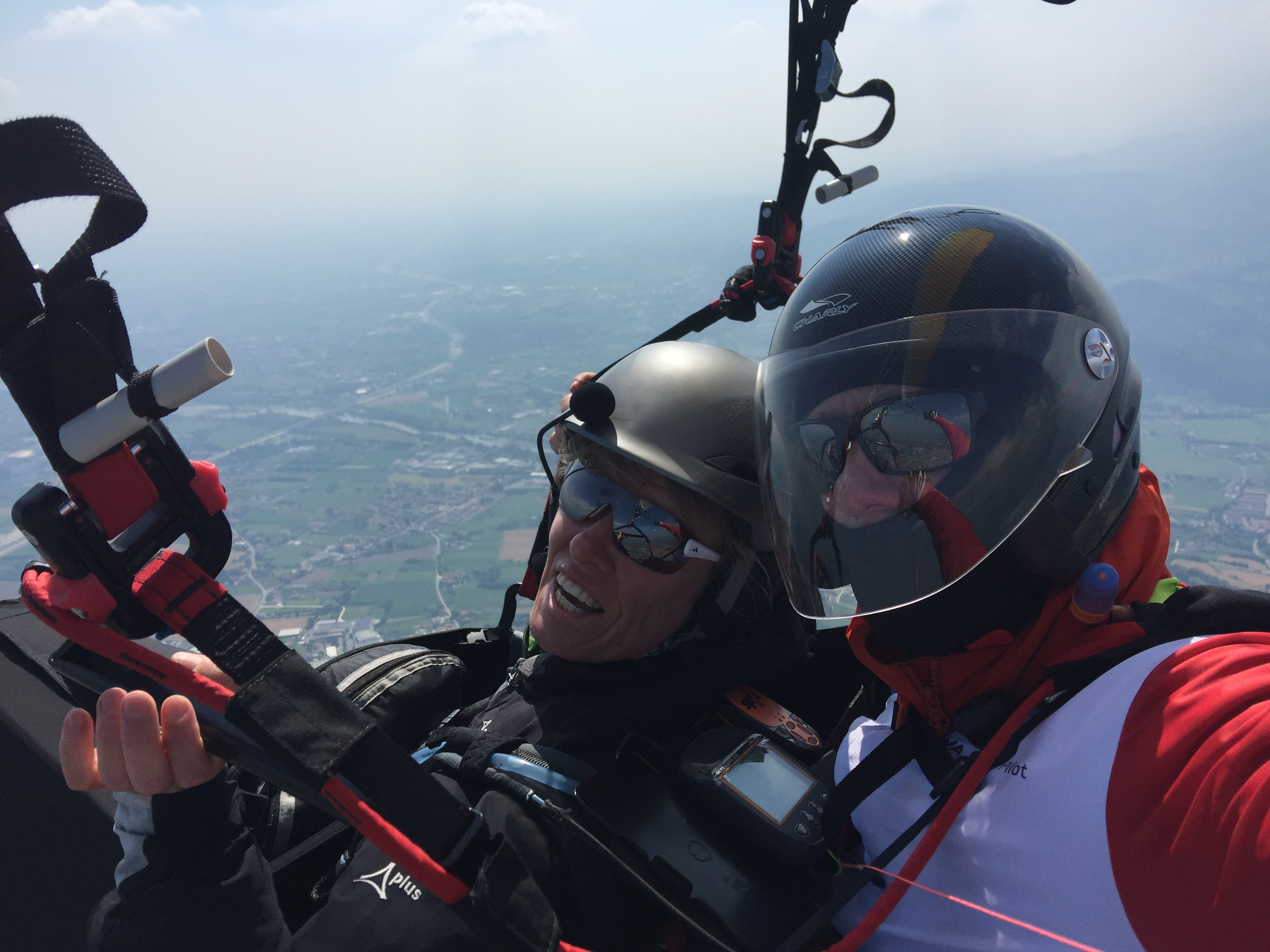 Tandem XC-flying – setting a record without knowing – having a co-pilot, not a passenger