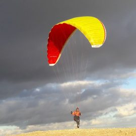 Paragliding on Lanzarote (Canary Islands) 2018