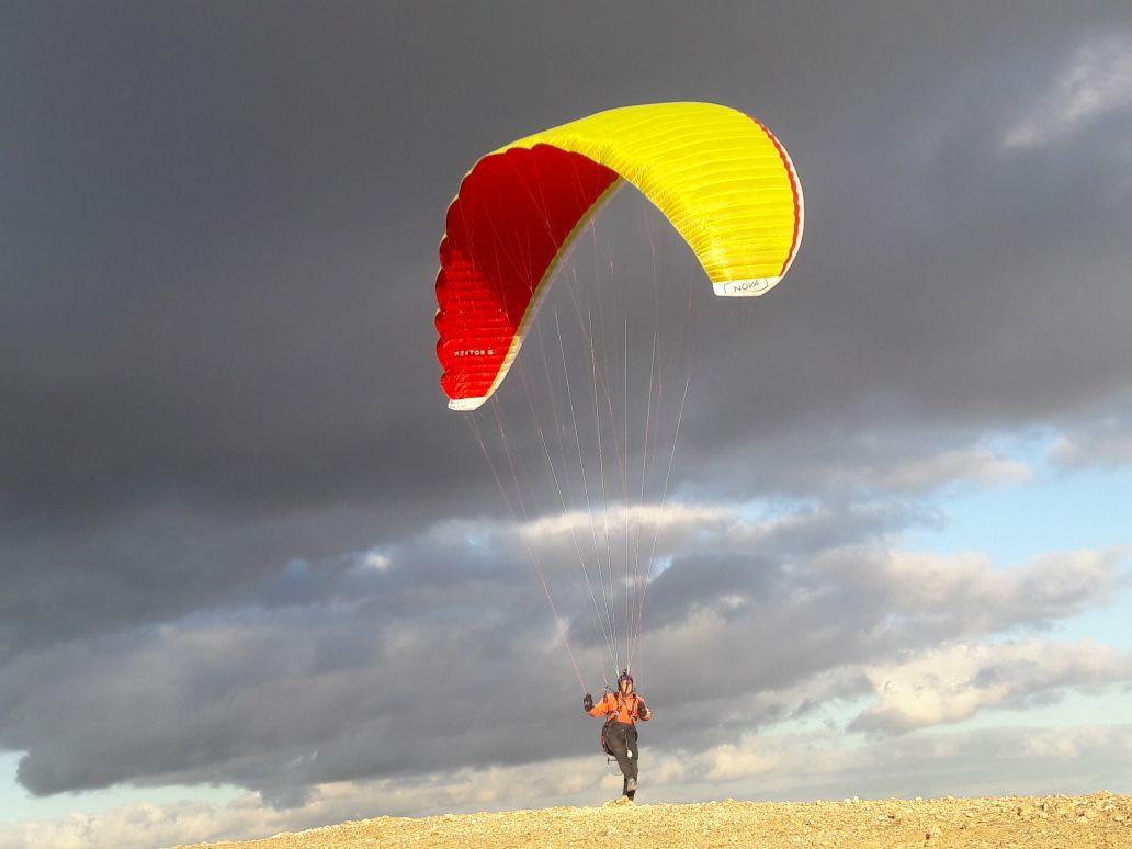 Paragliding on Lanzarote (Canary Islands) 2018
