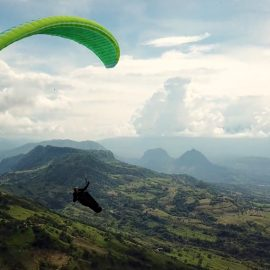 Paragliding Roadtrip Colombia 2018