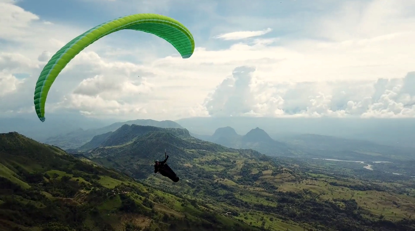 Paragliding Roadtrip Colombia 2018