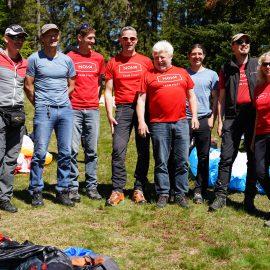 Flachland Teamtreffen 17.-19.05.2019 im Bayerwald          am Hausstein  (A mordz Gaudi wars!)