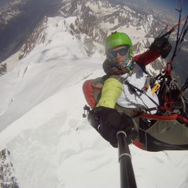 WHEN DREAMS COME TRUE: LANDING ON TOP OF MONT BLANC