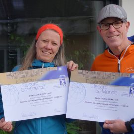 World and European Tandem Record recognized by FAI