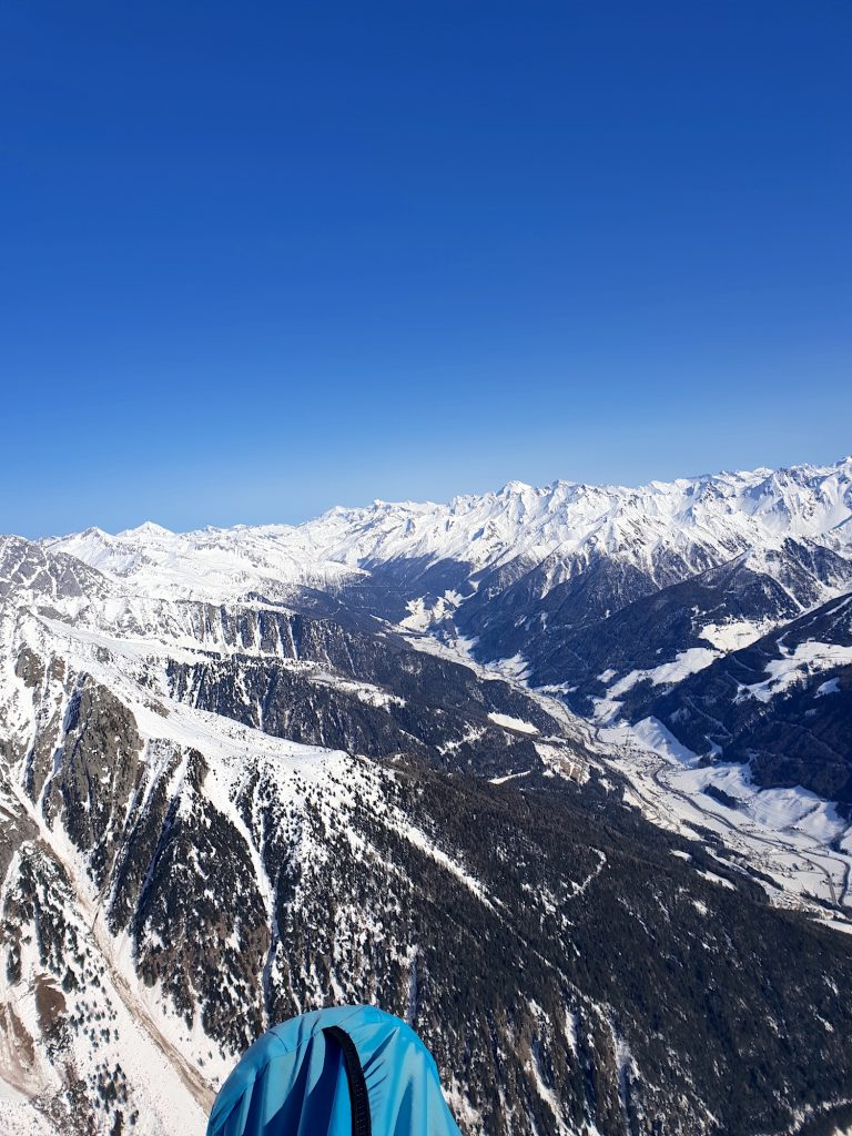 Nahe des ersten Wendepunkts am Ende des Ahrntals / Near the first turnpoint close to the end of Ahrn-Valley