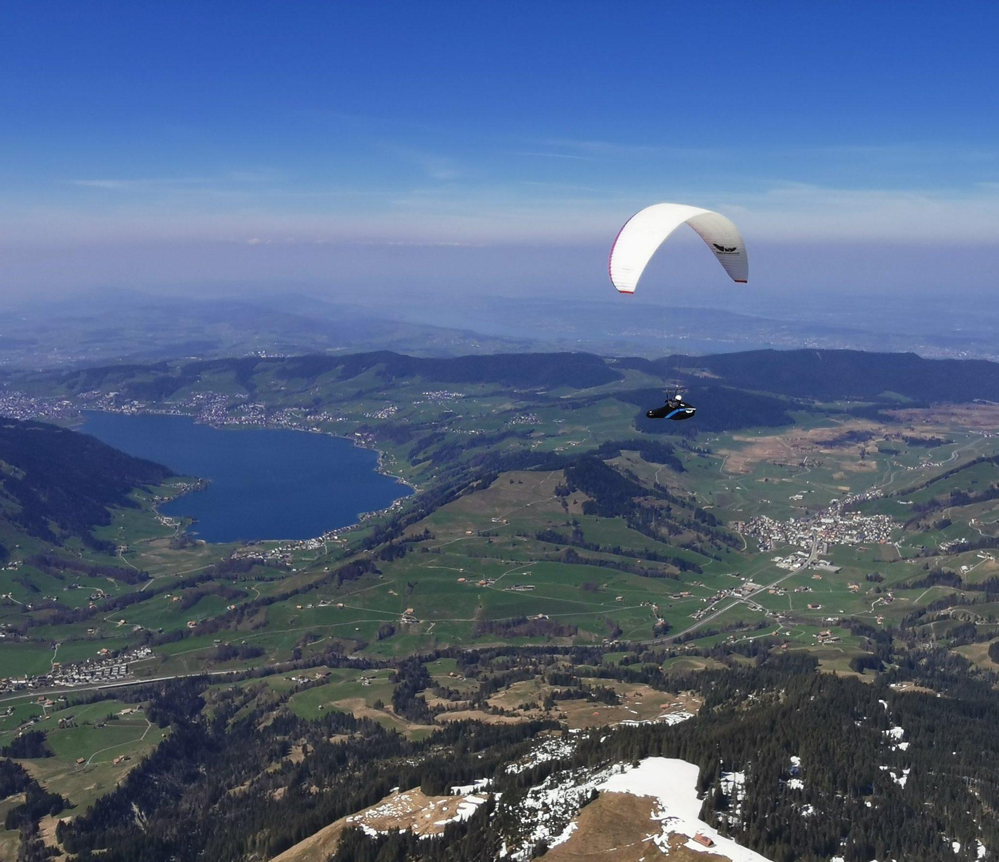 Schweizerische Seen-Tour – einer der schönsten Flüge in 33 Gleitschirm-Jahren