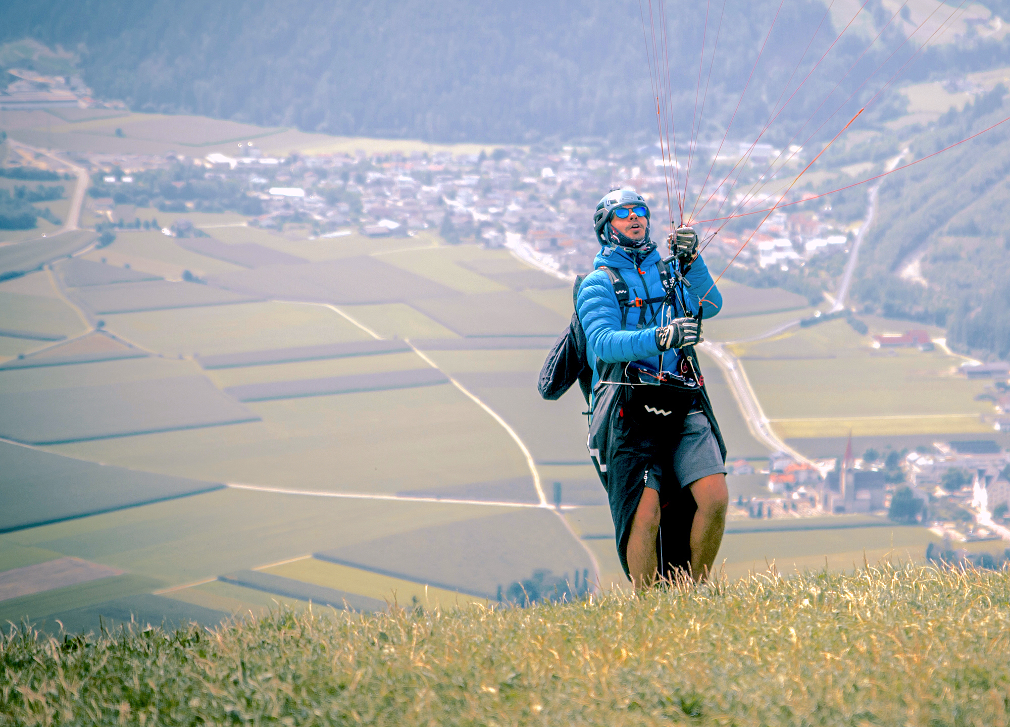 Mit dem XENON beim Muh-Race –mein erstes Hike & Fly-Rennen / With the XENON at the Muh Race – my first hike & fly comp